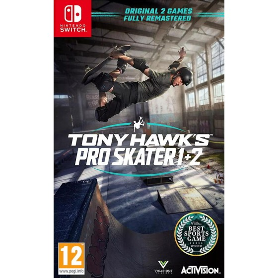 Tony Hawk's Pro Skater 1 + 2 - Switch