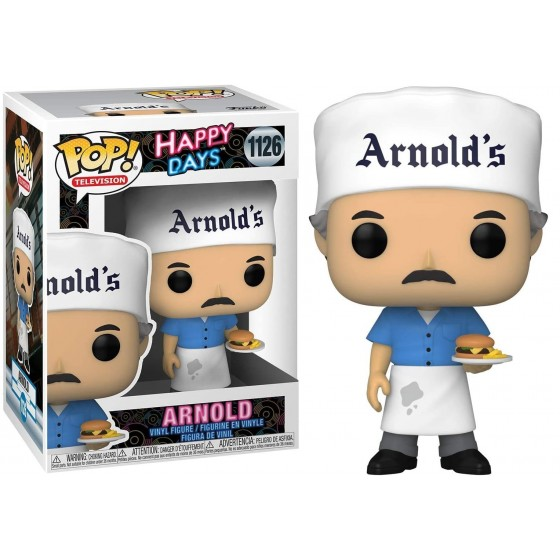 Funko Pop - Arnold (1126) - Happy Days - The Gamebusters