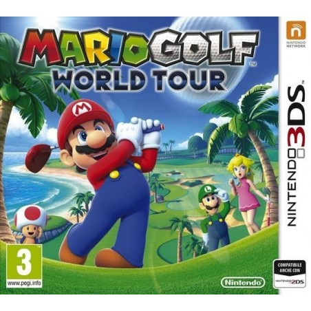 Mario Golf World Tour - 3DS