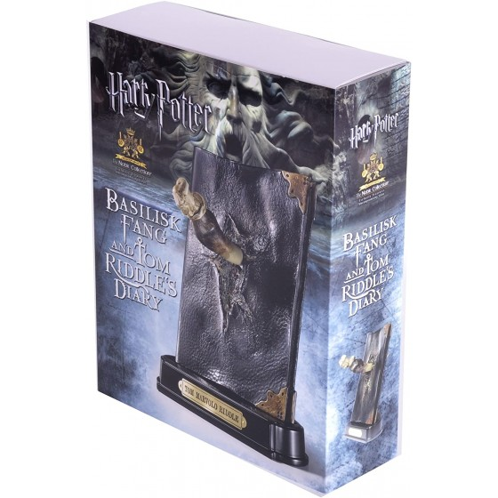 The Noble Collection Replica - Basilisk Fang and Tom Riddle Diary - Harry Potter