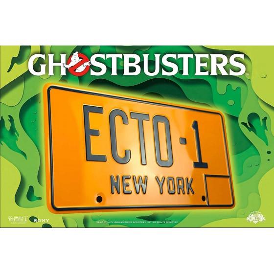 Replica - Targa Ecto-1 - The Ghostbusters