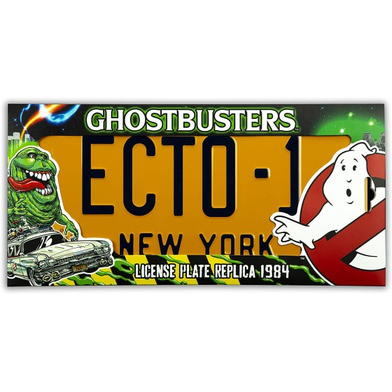 Replica - Targa Ecto-1 - The Ghostbusters - The Gamebusters