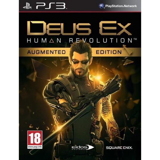 Deus Ex: Human Revolution - Augmented Edition - PS3