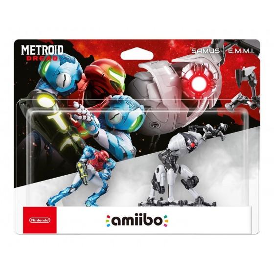 Nintendo Amiibo - Samus & E.M.M.I. - Metroid Dread