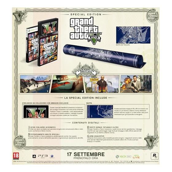 GTA V - Special Edition - PS3 usato