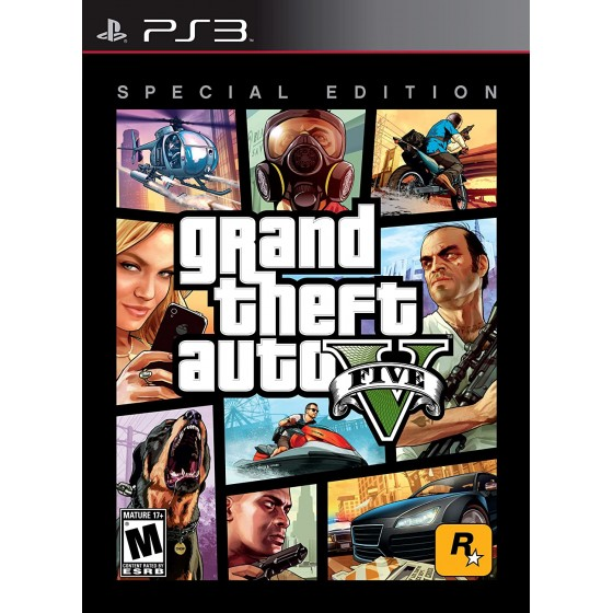 GTA V - Special Edition - PS3