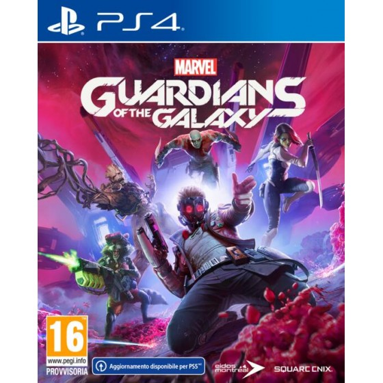 Marvel Guardians of the Galaxy - PS4 - The Gamebusters