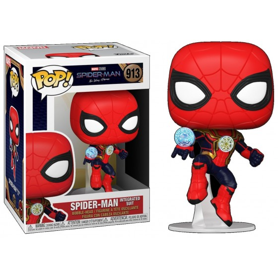 Funko Pop - Spider-Man (913) - Spider-Man No Way Home - The Gamebusters