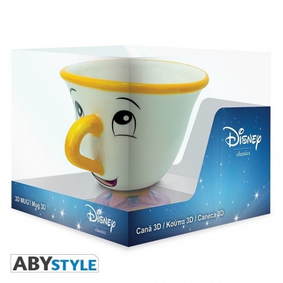 Tazza 3D - Disney La Bella e la Bestia Chicco - ABYstyle