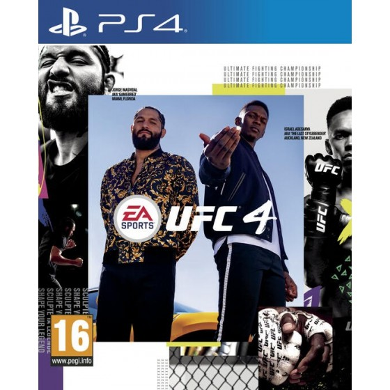 UFC 4 - PS4 - The Gamebusters