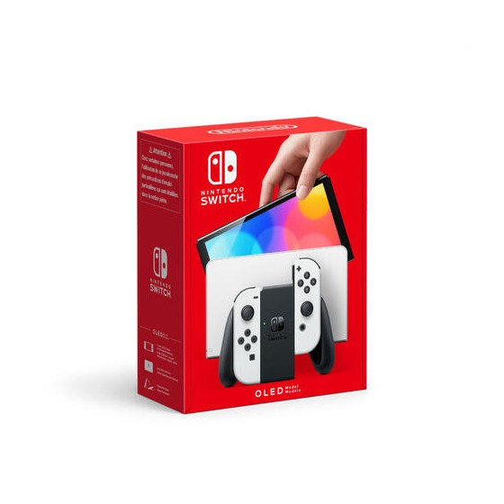 Console Nintendo Switch OLED - Bianca (White) - The Gamebusters