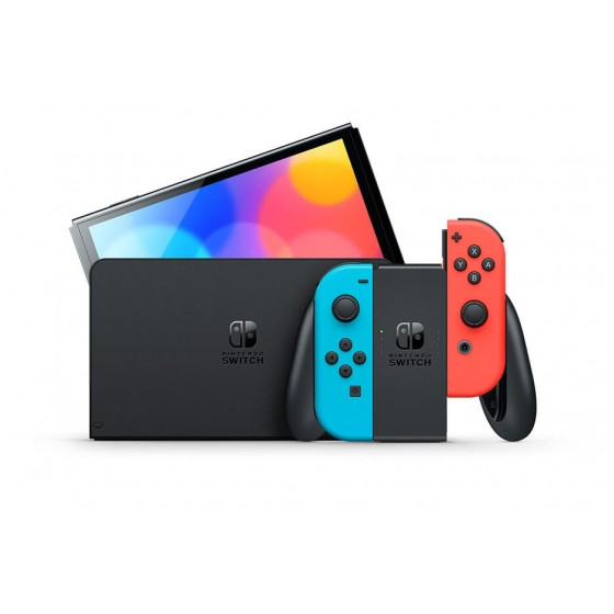 Console Nintendo Switch OLED - Neon (Classic)