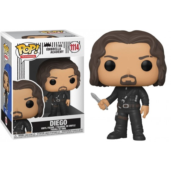 Funko Pop - Diego (1114) - The Umbrella Academy - The Gamebusters