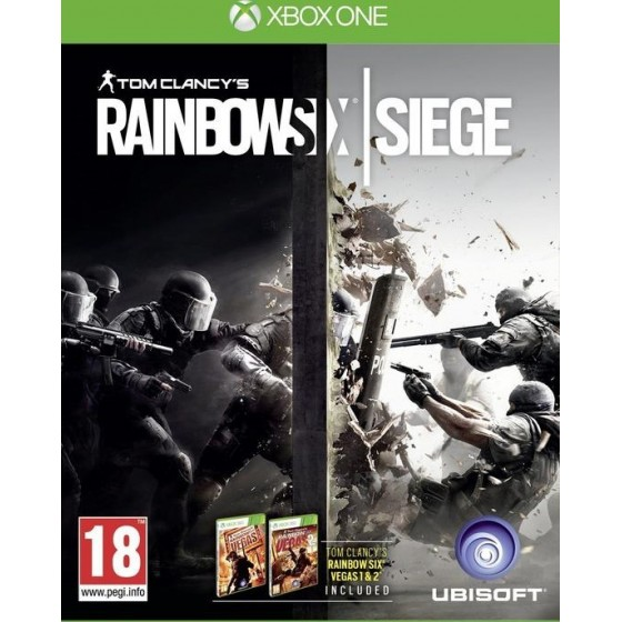 Tom Clancy's Rainbow Six Siege - Xbox One usato