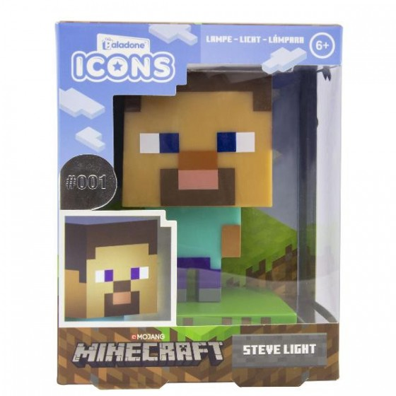 Lampada Steve Minecraft - Paladone