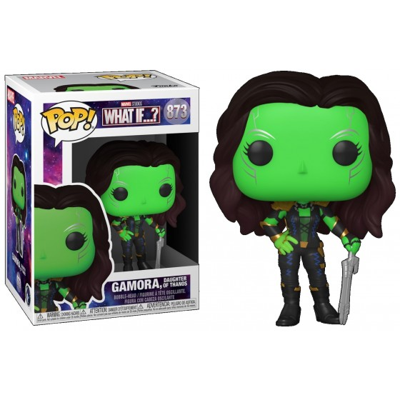 Funko Pop - Gamora (873) - Marvel What If...? - The Gamebusters