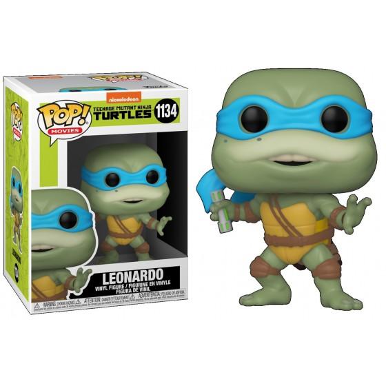 Funko Pop - Leonardo (1134) - Tartarughe Ninja - The Gamebusters