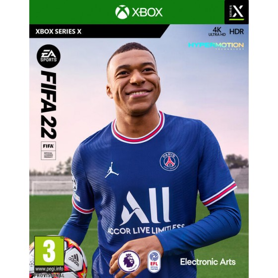 Xbox Series X - FIFA 22 - THE GAMEBUSTERS