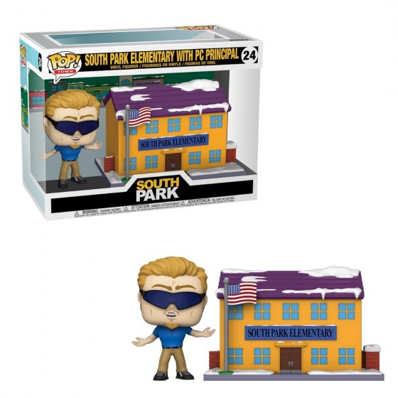Funko Pop - South Park Elementary with PC Principal (24) - South Park