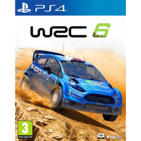 WRC 6 - PS4 - The Gamebusters