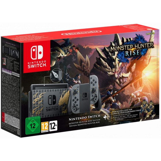 Console Nintendo Switch - Monster Hunter Rise Edition - The Gamebusters