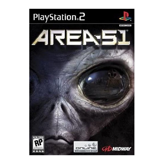 Area 51 - PS2 - The Gamebusters