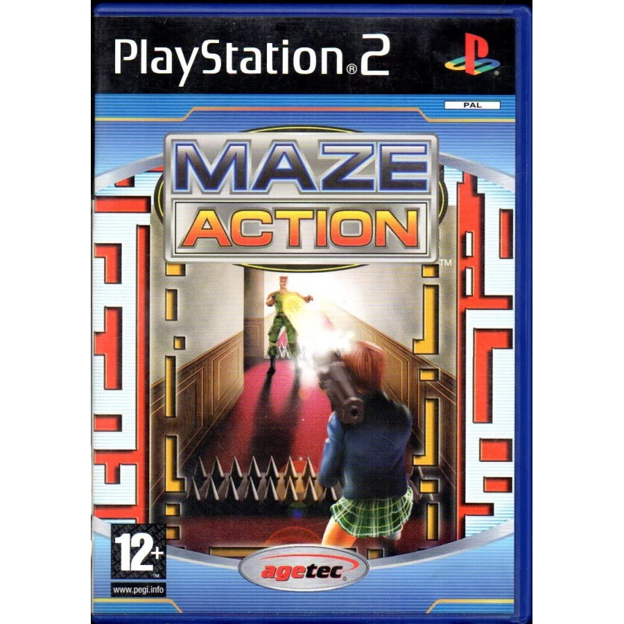 Maze Action - PS2 - The Gamebusters