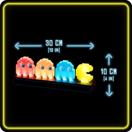 Lampada Pac Man And Ghosts - Paladone