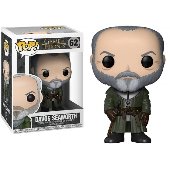 Funko Pop - Davos Seaworth (62) - Game of Thrones - The Gamebusters