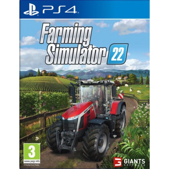 Farming Simulator 22 - PS4 - The Gamebusters