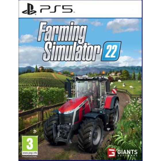 Farming Simulator 22 - PS5 - The Gamebusters