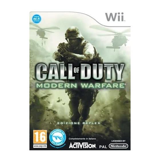 Call of Duty 4 Modern Warfare - Wii usato