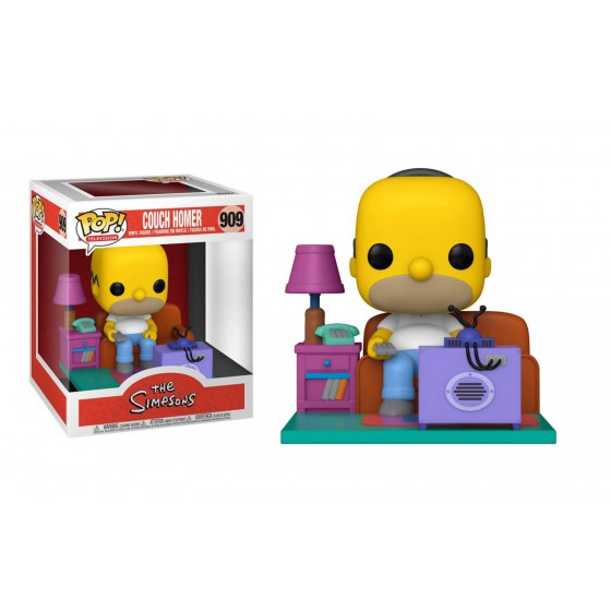 Funko Pop - Homer Watching TV (909) - The Simpsons - The Gamebusters