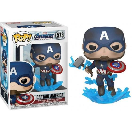 Funko Pop - Captain America (573) - Marvel