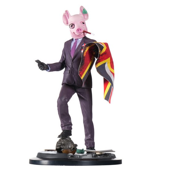 Action Figure - Resistant of London - Watch Dogs Legion - The Gamebusters
