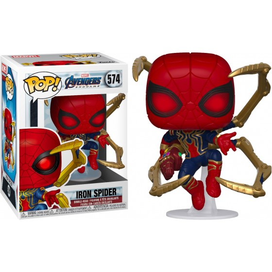 Funko Pop - Iron Spider (574) - Marvel - The Gamebusters