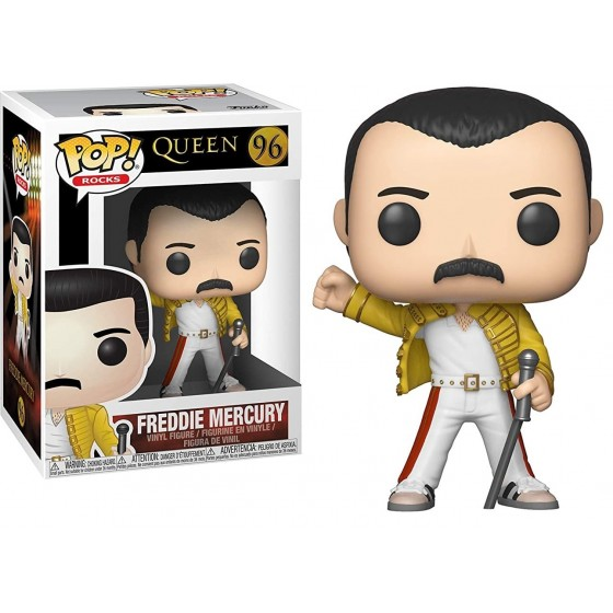 Funko Pop - Freddie Mercury (96) - Queen - The Gamebusters