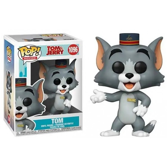 Funko Pop - Tom (1096) - Tom & Jerry - The Gamebusters