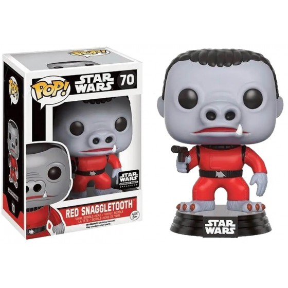 Funko Pop - Red Snaggletooth (70) - Star Wars - The Gamebusters