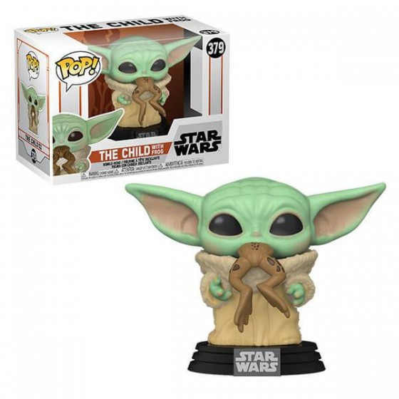 Funko Pop - The Child With Frog (379) - Star Wars - The Gamebusters
