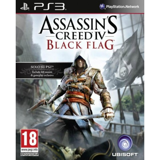 Assassin's Creed IV Black Flag - PS3 usato