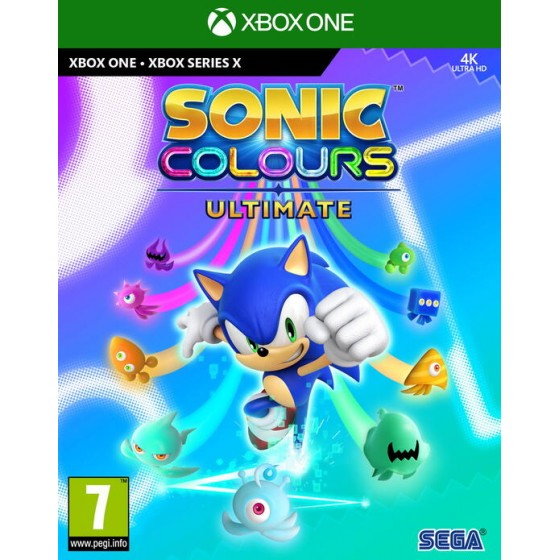 Sonic Colours Ultimate - Xbox Series X - One - The Gamebusters