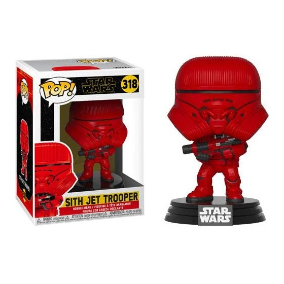 Funko Pop - Sith Jet Trooper (318) - Star Wars - The Gamebusters