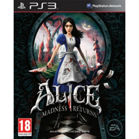 Alice Madness Returns - PS3 usato