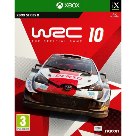 WRC 10 - Xbox Series X / One - The Gamebusters