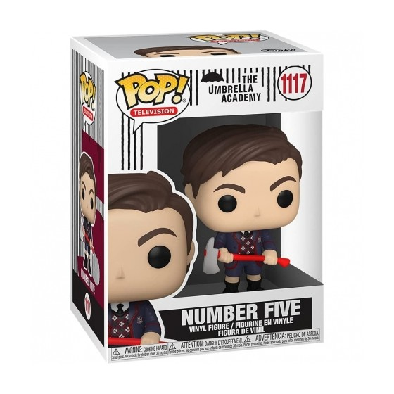 Funko Pop - Number Five (1117) - The Umbrella Academy - The Gamebusters