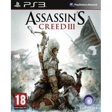 Assassin's Creed III - PS3 Usato