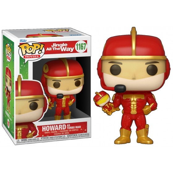 Funko Pop - Howard As Turbo Man (1167) - Jingle All The Way - The Gamebusters