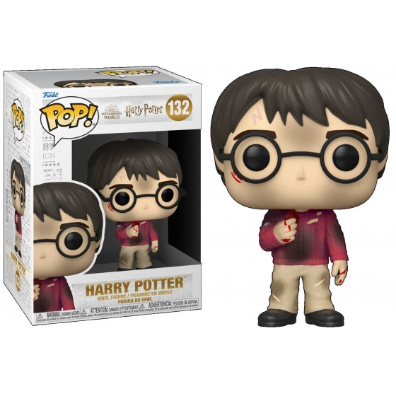Funko Pop - Harry with The Stone (132) - Harry Potter Anniversary - The Gamebusters