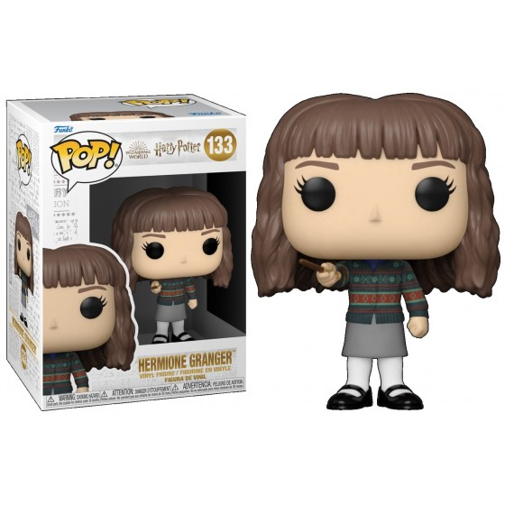 Funko Pop - Harry Potter Anniversary - Hermione with Wand (133) - The Gamebusters